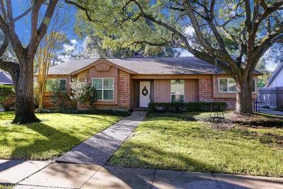 Houston Single Family Home For Sale: 10619 Lynbrook Drive
