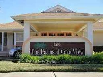 Galveston Condo/Townhouse For Sale: 3506 Cove View Boulevard #1603