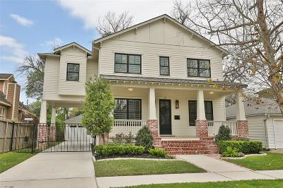 Houston TX Single Family Home For Sale: $1,089,900