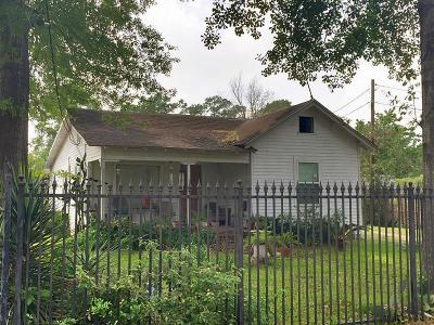 Houston Single Family Home For Sale: 7325 Appleton Street