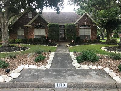 Alvin Single Family Home For Sale: 1130 Stevenwood Lane