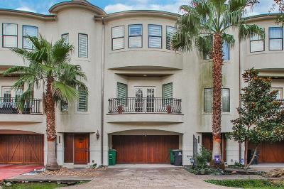 Houston Condo/Townhouse For Sale: 1720 McDonald Street