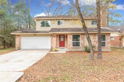The Woodlands Single Family Home For Sale: 37 S Waxberry Road