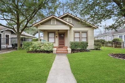 Houston Single Family Home For Sale: 1111 Winston Street