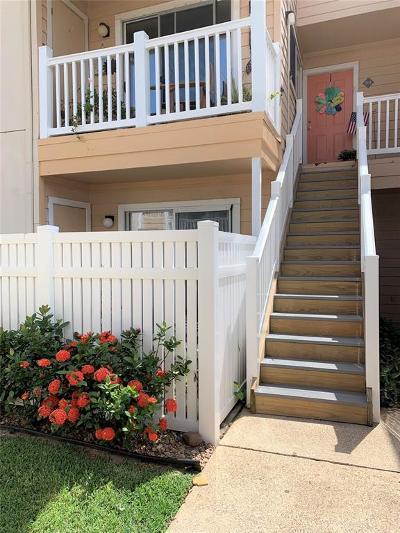 Galveston Condo/Townhouse For Sale: 3506 Cove View Boulevard #503