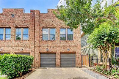 Houston Single Family Home For Sale: 1529 Blair Street