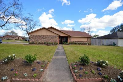 Alvin Single Family Home For Sale: 1801 Parkcrest Street