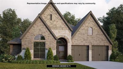 Single Family Home For Sale: 3722 Lake Falls Drive