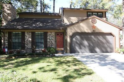 The Woodlands Single Family Home For Sale: 30 S White Pebble Court