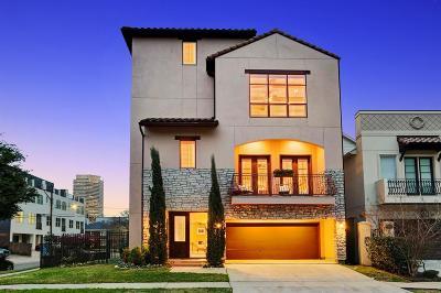 Houston Single Family Home For Sale: 1220 W Pierce Street
