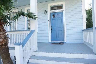 Galveston Single Family Home For Sale: 1711 21st Street