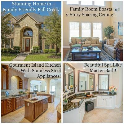 Humble Single Family Home For Sale: 14415 Kingston Falls Lane