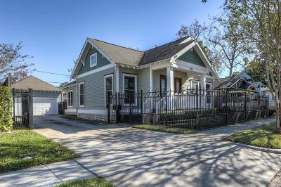Houston Single Family Home For Sale: 208 Moss Street