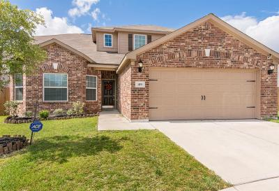 La Marque Single Family Home For Sale: 419 Turquoise Trade Drive