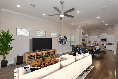 Houston Single Family Home Pending: 5837 E Post Oak Lane #A