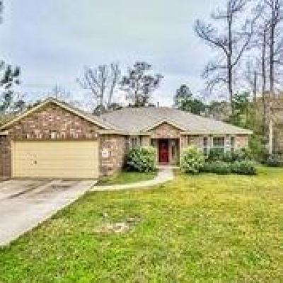 Willis Single Family Home For Sale: 10873 Sunflower Drive