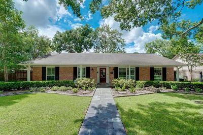Houston Single Family Home For Sale: 10623 Del Monte