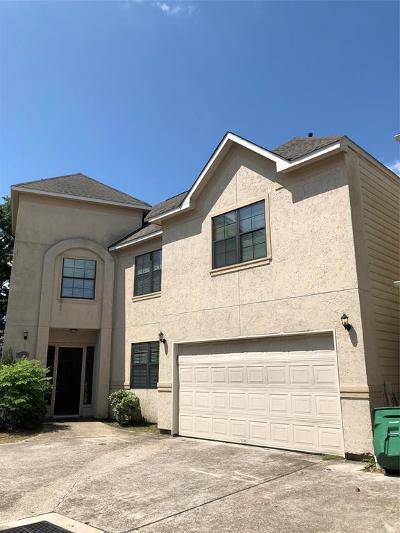 Houston Single Family Home For Sale: 7545 Highmeadow Drive