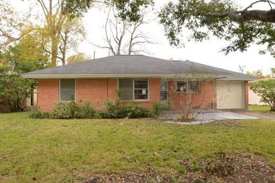 Hitchcock Single Family Home For Sale: 405 Meadow Lane