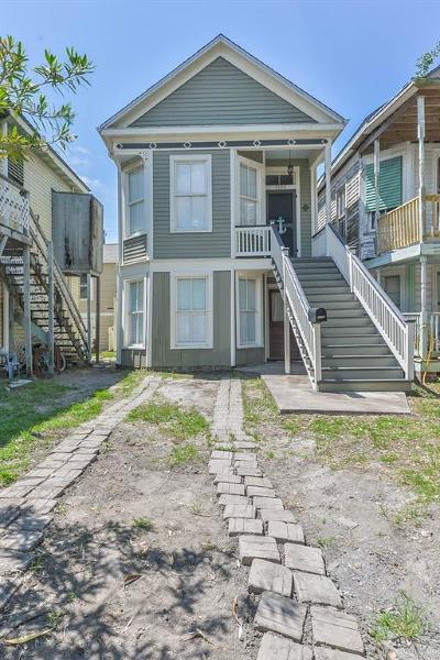 Galveston Multi Family Home For Sale: 3105 Avenue M 1/2