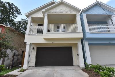 Houston Single Family Home For Sale: 1113 E 27th Street