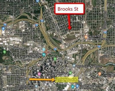 Houston Single Family Home For Sale: 1111 Brooks Street