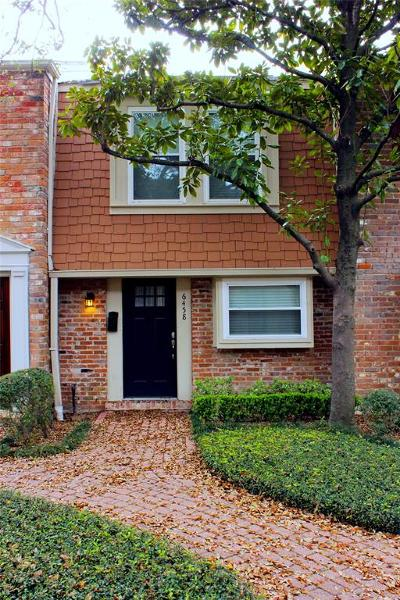 Houston TX Condo/Townhouse For Sale: $190,000
