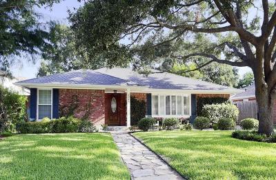 Houston Single Family Home For Sale: 3847 Tartan Lane