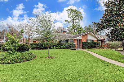 Houston Single Family Home For Sale: 6822 Northampton Way
