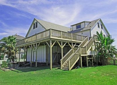 Galveston Single Family Home For Sale: 1720 103rd Street