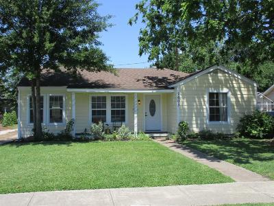 Houston Single Family Home For Sale: 7603 Linden Street