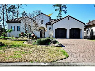 The Woodlands Single Family Home For Sale: 50 Wintress Drive