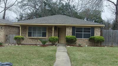 Stafford Single Family Home For Sale: 4528 Buena Vista