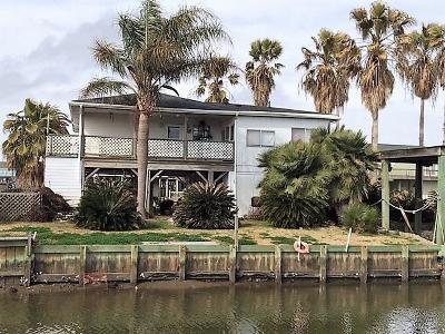Crystal Beach Single Family Home For Sale: 1122 Buddy Kirk