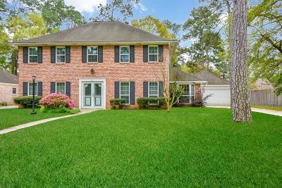 Houston Single Family Home For Sale: 8211 Devonwood Lane