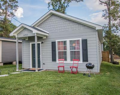 Montgomery Single Family Home For Sale: 16923 W Forrestal