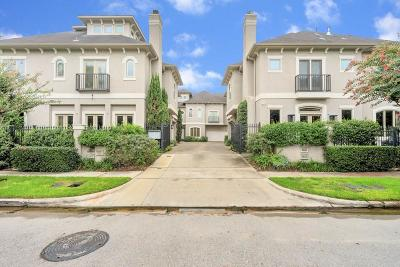 Houston Condo/Townhouse For Sale: 5333 Dora Street