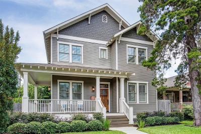 Houston Single Family Home For Sale: 803 Waverly Street