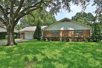 Meyerland, Meyerland 1, Meyerland 3, Meyerland 8 Rp C Single Family Home For Sale: 5230 Jackwood