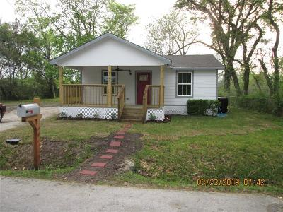 Houston Single Family Home For Sale: 7524 Burt Street