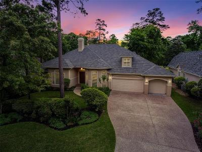 The Woodlands TX Single Family Home For Sale: $815,000