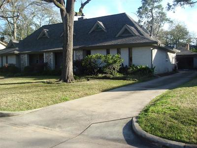 Houston Single Family Home For Sale: 12707 Pebblebrook Drive
