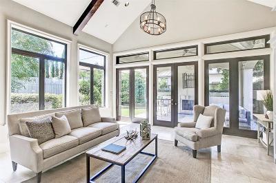 Houston TX Single Family Home For Sale: $2,125,000