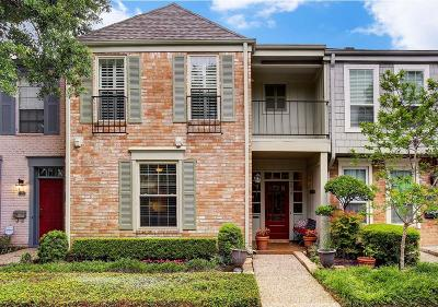 Houston Condo/Townhouse For Sale: 7519 Brompton Street