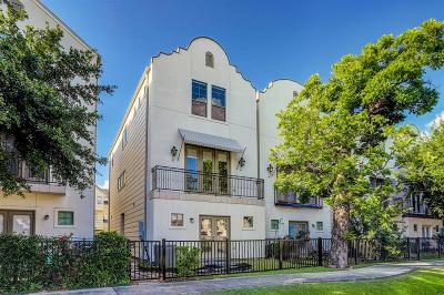 Houston Single Family Home For Sale: 906 Patterson Street