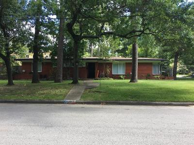 Houston Single Family Home For Sale: 3921 Brookwoods Drive