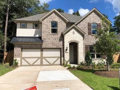 Montgomery Single Family Home For Sale: 118 Bluebell Woods Way