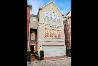 Houston Condo/Townhouse For Sale: 2120 Bancroft Street
