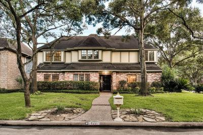 Houston TX Single Family Home For Sale: $388,500