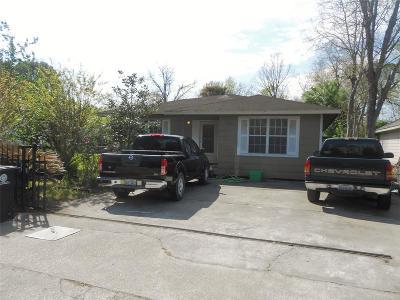 Houston Single Family Home For Sale: 9250 Arledge Street